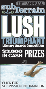 Lush Triumphant Literary Awards