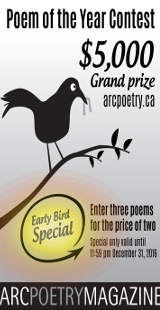 Arc Poetry Contest