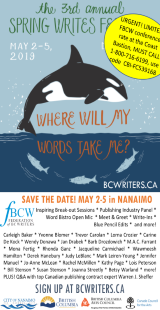 BC Writers Spring Writes Festival