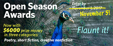 Open Season Awards Deadline Extended