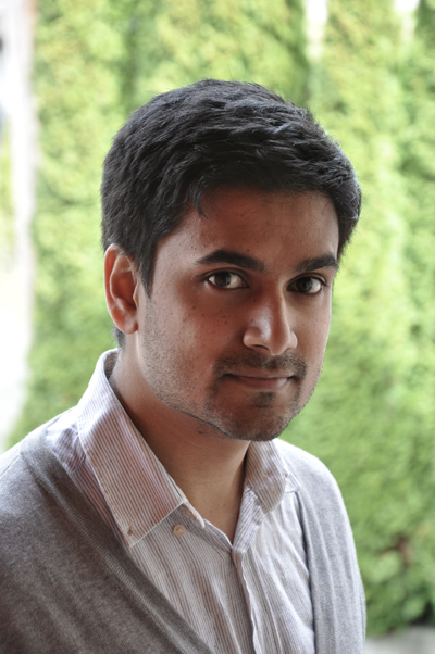 Naben Ruthnum, winner of the 2012 Novella Prize
