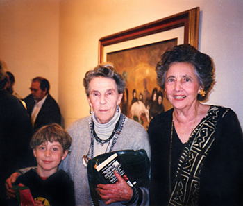 P. K. Page with Leonora Carrington.