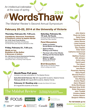 WordsThaw 2014 full poster